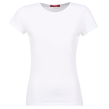 tekstylia Damskie T-shirty z krótkim rękawem BOTD EQUATILA Biały