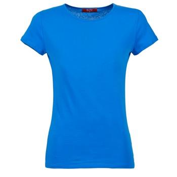 tekstylia Damskie T-shirty z krótkim rękawem BOTD EQUATILA Niebieski