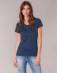 tekstylia Damskie T-shirty z krótkim rękawem BOTD EFLOMU Marine