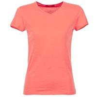 tekstylia Damskie T-shirty z krótkim rękawem BOTD EFLOMU Koral