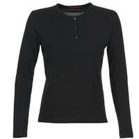 tekstylia Damskie T-shirty z długim rękawem BOTD EBISCOL Czarny
