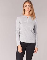 tekstylia Damskie T-shirty z długim rękawem BOTD EBISCOL Szary