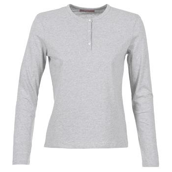 tekstylia Damskie T-shirty z długim rękawem BOTD EBISCOL Szary / Chiné