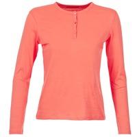 tekstylia Damskie T-shirty z długim rękawem BOTD EBISCOL Koral