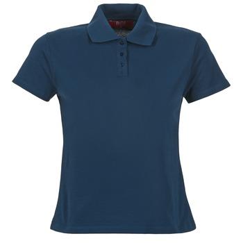 tekstylia Damskie Koszulki polo z krótkim rękawem BOTD ECLOVERA Marine