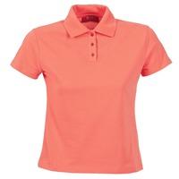 tekstylia Damskie Koszulki polo z krótkim rękawem BOTD ECLOVERA Pomarańczowy
