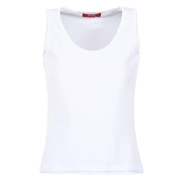 tekstylia Damskie Topy na ramiączkach / T-shirty bez rękawów BOTD EDEBALA Biały