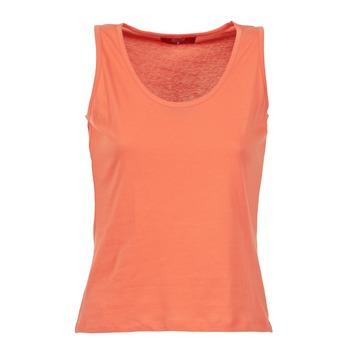 tekstylia Damskie Topy na ramiączkach / T-shirty bez rękawów BOTD EDEBALA Pomarańczowy