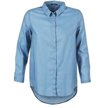 tekstylia Damskie Koszule School Rag CHELSY Niebieski