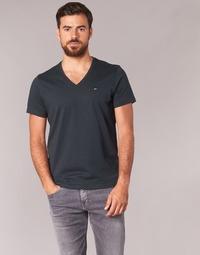 tekstylia Męskie T-shirty z krótkim rękawem Tommy Jeans MALATO Czarny