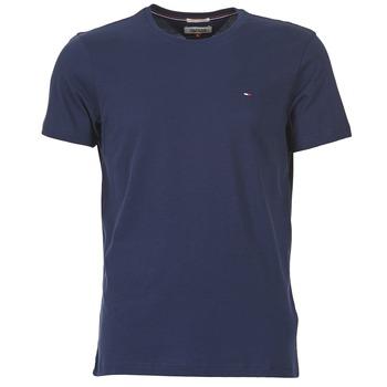 tekstylia Męskie T-shirty z krótkim rękawem Tommy Jeans OFLEKI Marine