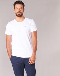 tekstylia Męskie T-shirty z krótkim rękawem Tommy Jeans OFLEKI Biały