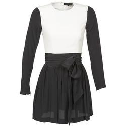 tekstylia Damskie Sukienki krótkie American Retro STANLEY Czarny / Biały