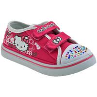 Buty Dziecko Trampki niskie Hello Kitty  Różowy