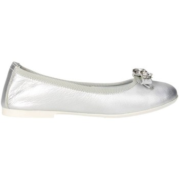 Buty Dziewczynka Baleriny Blumarine D1053 srebrny