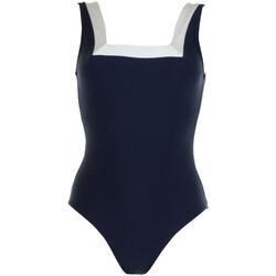tekstylia Damskie Kostium kąpielowy jednoczęściowy Janine Robin 991272-18 Niebieski