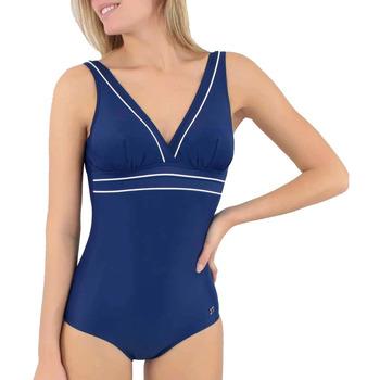 tekstylia Damskie Kostium kąpielowy jednoczęściowy Janine Robin 991278-18 Niebieski