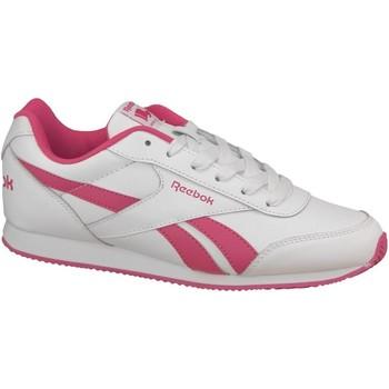 Buty Damskie Trampki niskie Reebok Sport Royal CL Jogger 2 V70489 Białe,Różowe