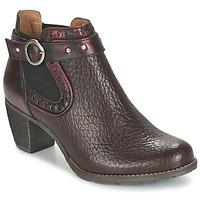 Buty Damskie Low boots Dkode CLOA BORDEAUX