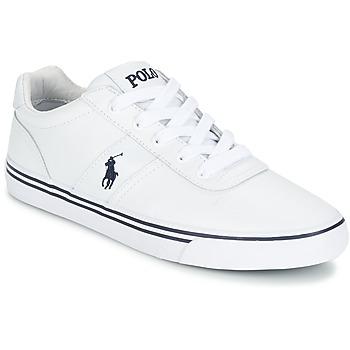 Buty Męskie Trampki niskie Polo Ralph Lauren HANFORD Biały