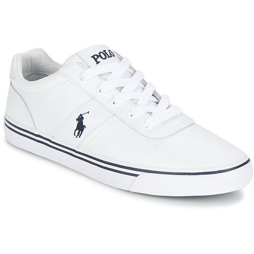 207c76d89 Polo Ralph Lauren HANFORD Biały - Bezpłatna dostawa | Spartoo.pl ...