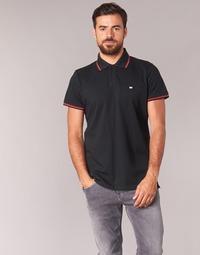 tekstylia Męskie Koszulki polo z krótkim rękawem Casual Attitude EPIDIN Czarny