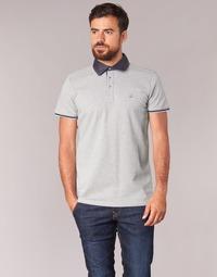 tekstylia Męskie Koszulki polo z krótkim rękawem Casual Attitude EFOLI Szary