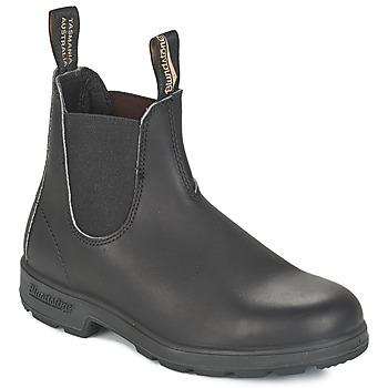 Buty Buty za kostkę Blundstone CLASSIC BOOT Czarny / Brązowy