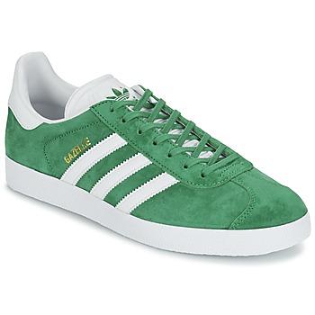 Buty Trampki niskie adidas Originals GAZELLE Zielony