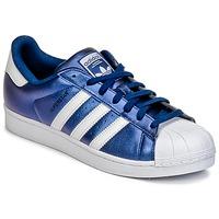 Buty Męskie Trampki niskie adidas Originals SUPERSTAR Niebieski