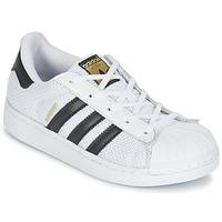 Buty Dziecko Trampki niskie adidas Originals SUPERSTAR EL C Biały