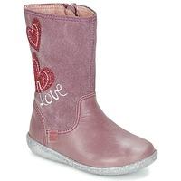 Buty Dziewczynka Kozaki Agatha Ruiz de la Prada BIGI Różowy