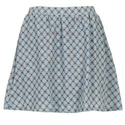 tekstylia Damskie Spódnice Compania Fantastica BAGAL Niebieski