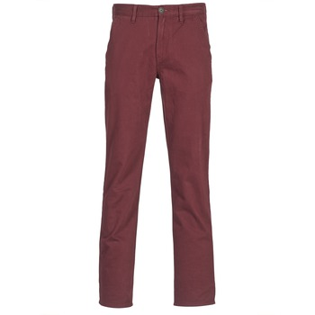tekstylia Męskie Chinos Timberland SQUAM LAKE CHINO BORDEAUX