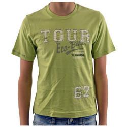 tekstylia Dziecko T-shirty z krótkim rękawem Diadora  Zielony