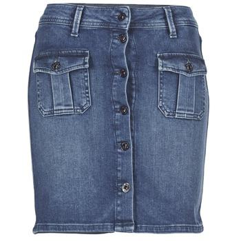tekstylia Damskie Spódnice Pepe jeans SCARLETT Niebieski