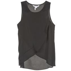 tekstylia Damskie Topy na ramiączkach / T-shirty bez rękawów BCBGeneration 616725 Czarny