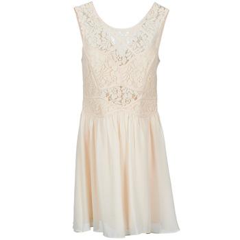tekstylia Damskie Sukienki krótkie BCBGeneration 617574 Beżowy