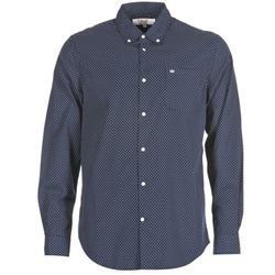 tekstylia Męskie Koszule z długim rękawem Vicomte A. JANOUPE Marine