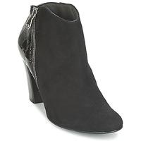 Buty Damskie Low boots France Mode NANTES Czarny / Verni
