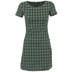 tekstylia Damskie Sukienki krótkie Smash CATALANA Zielony
