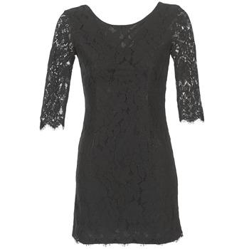 tekstylia Damskie Sukienki krótkie Betty London FLIZINE Czarny