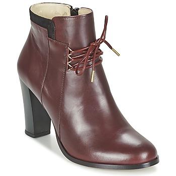 Buty Damskie Low boots M. Moustache EMMA BORDEAUX / Czarny