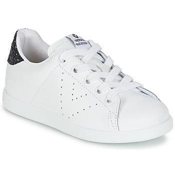 Buty Dziewczynka Trampki niskie Victoria DEPORTIVO BASKET PIEL KID Biały