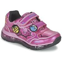 Buty Dziewczynka Trampki niskie Geox ANDROID GIRL Różowy