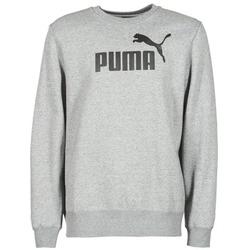 tekstylia Męskie Bluzy Puma ESS CREW SWEAT FL Szary
