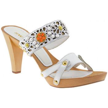 Buty Damskie Sandały Swish  Biały