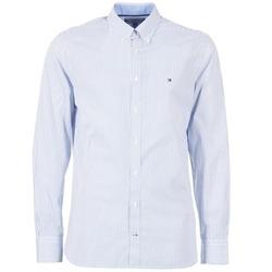 tekstylia Męskie Koszule z długim rękawem Tommy Hilfiger DUNFORD STP NFC2 Niebieski