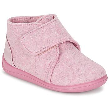 Buty Dziewczynka Obuwie domowe Citrouille et Compagnie FELINDRA Różowy