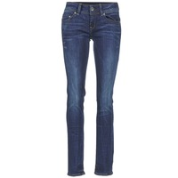 tekstylia Damskie Jeansy straight leg G-Star Raw MIDGE SADDLE MID STRAIGHT Denim